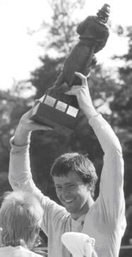 Dirk Schachtsiek beim ersten DM-Titel 1986